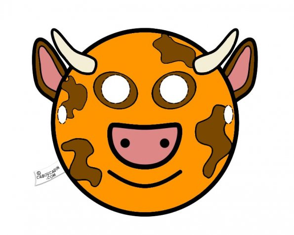 masque-vache-orange-caboucadin