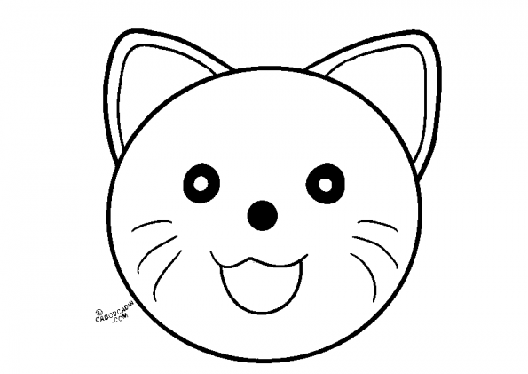 coloriage-masque-chat-caboucadin