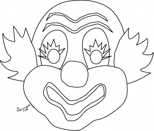 coloriage-masque-de-clown-caboucadin