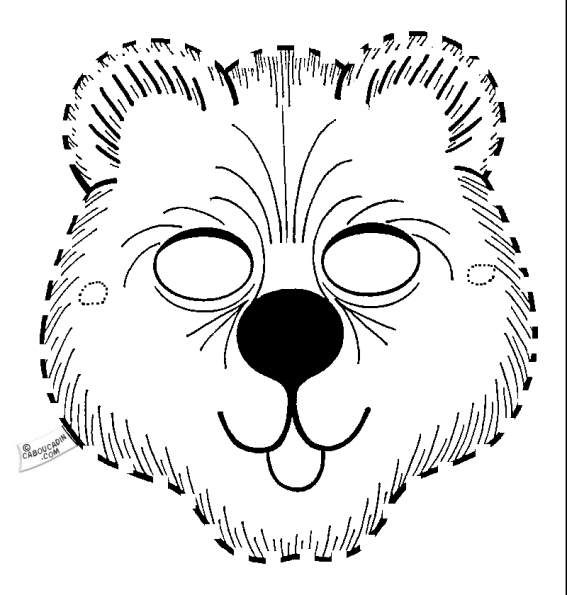 coloriage-avec-pointille-ours-caboucadin