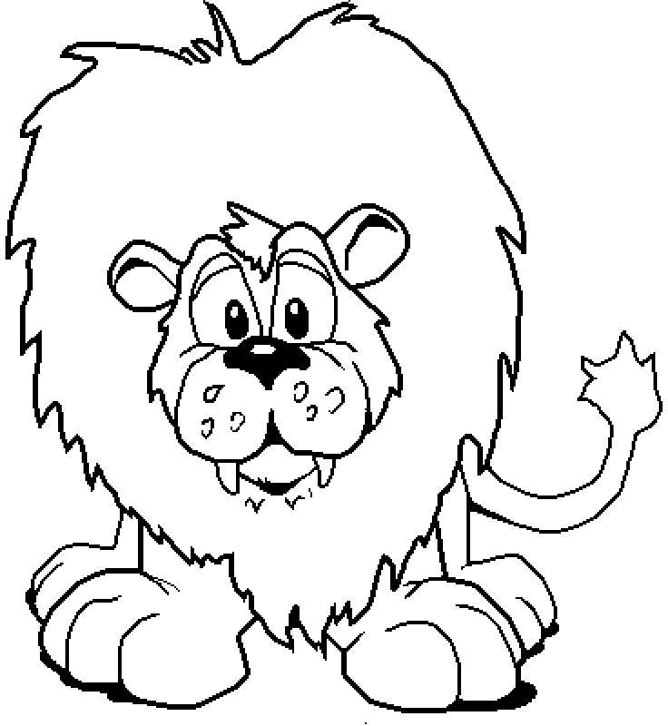 Coloriage lion lionne et lionceau lion coloriages 8 - Coloriages lion ...