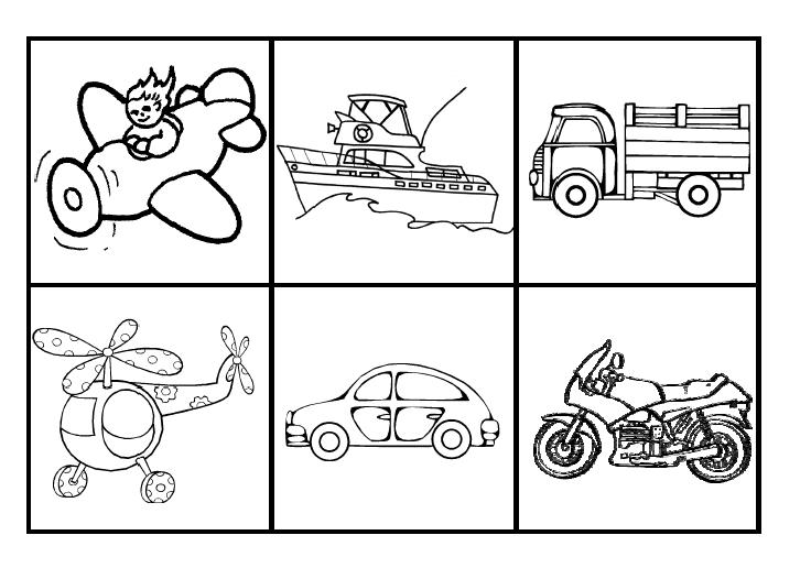 Coloriage maternelle transports www - Coloriage transport ...