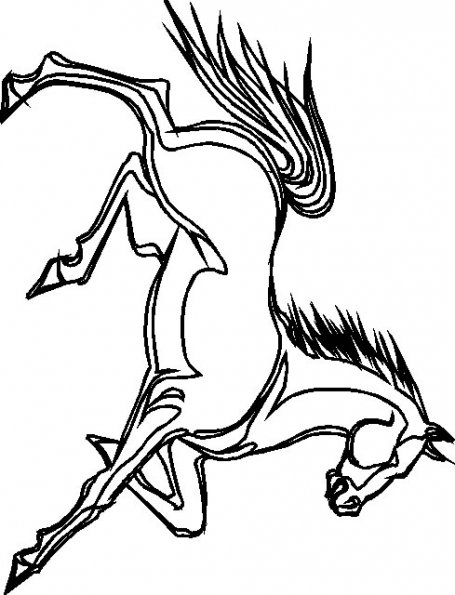 coloriage-cheval-5