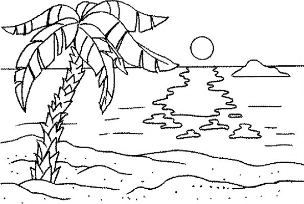 ocean background coloring pages with no animals - photo #4
