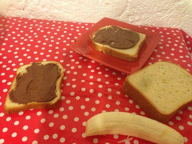 recette croque monsieur bananes et nutella. Black Bedroom Furniture Sets. Home Design Ideas