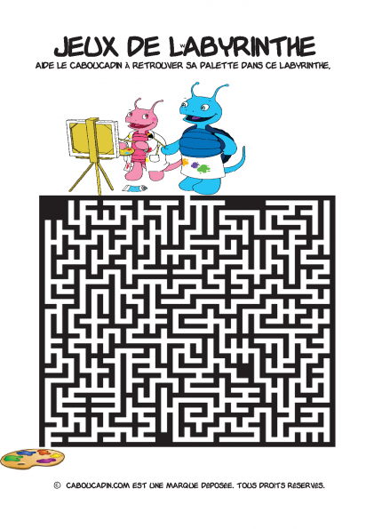 labyrinthe-difficile-coloriage-1
