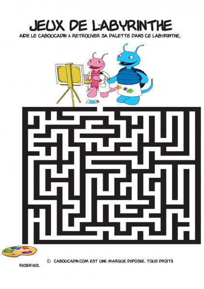 labyrinthe-facile-coloriage-9