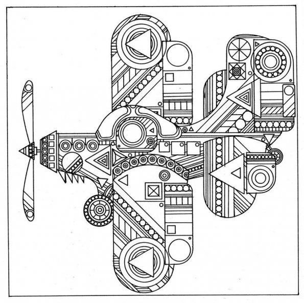 avion-zentangle-1