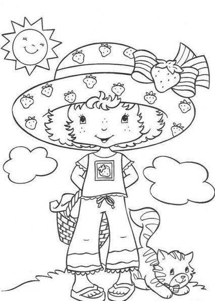 Coloriages de dessins anim s - Coloriages charlotte aux fraises ...