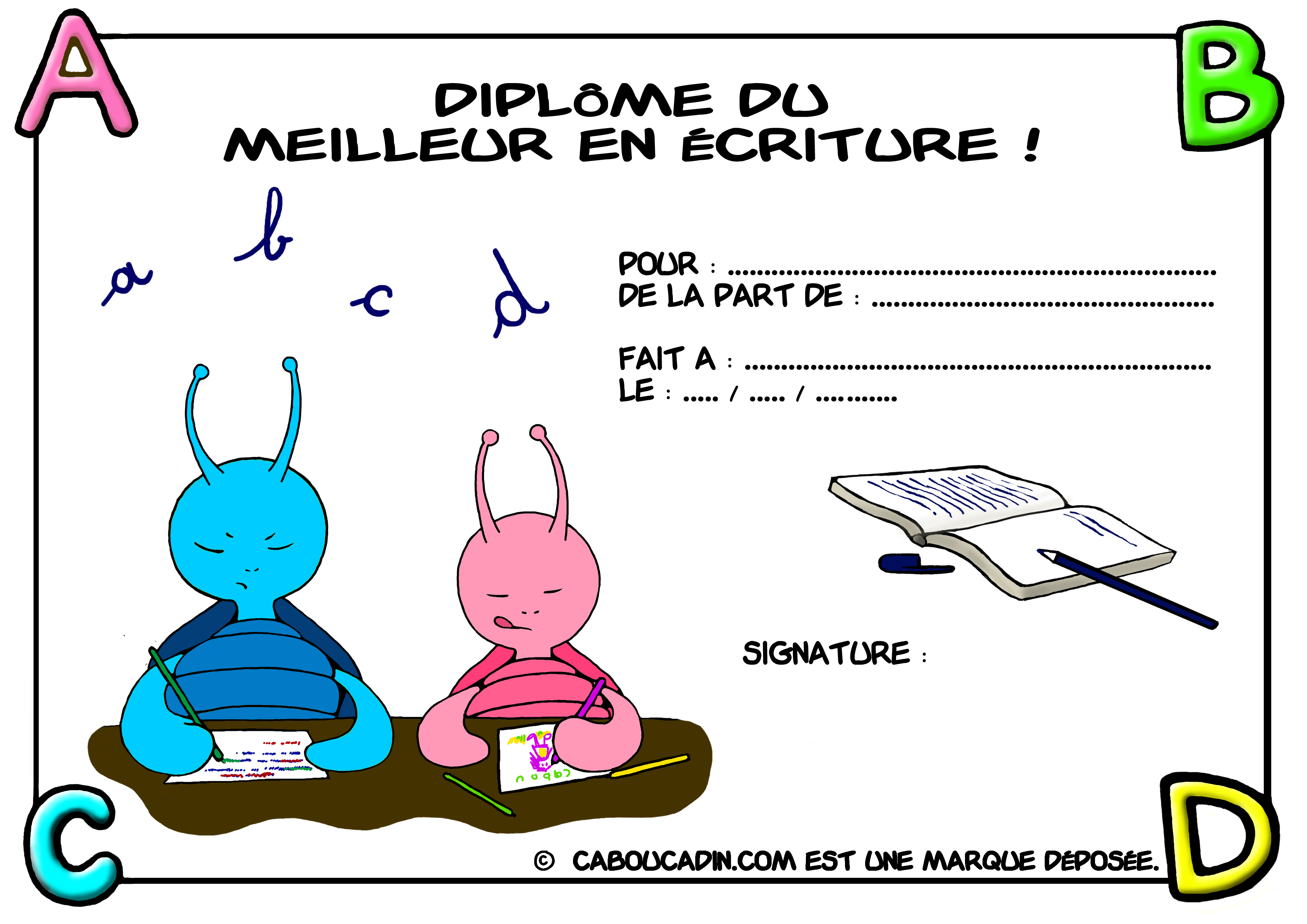 dipl u00f4me  u00e0 imprimer pour les enfants