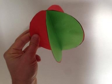 Bricolage de no l maternelle - Boule de noel a fabriquer en papier ...