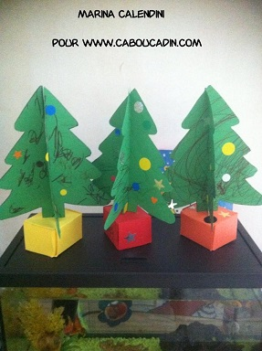 comment faire un sapin 3d en carton. Black Bedroom Furniture Sets. Home Design Ideas