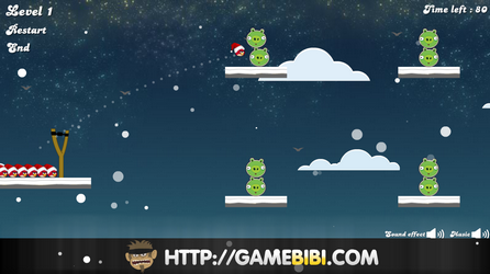 Swf games index angry birds gamesworld - Angry birds noel ...