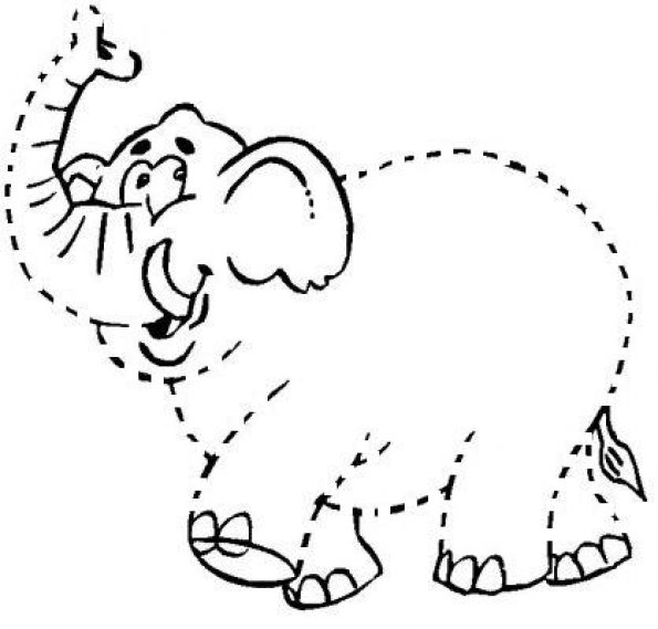 coloriage-elephant